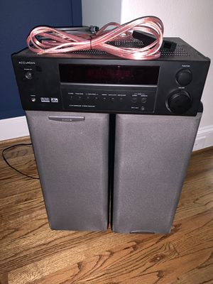Stereo Receiver and Speakers for Sale in Houston, TX