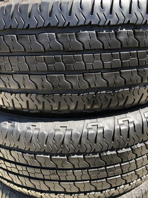 Good year wrangler 275/65/18 set of 4 tires for Sale in Stockton, CA