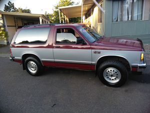PRICE DROP! SELL OR TRADE 1990 Chevy S10 Blazer Tags till 21 for Sale in Gresham, OR