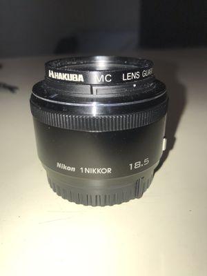 Nikkor 18.5 mm lens for Nikon1 for Sale in Honolulu, HI