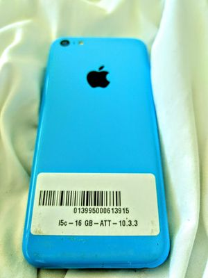 Unlocked iPhone 5c 16GB Like New Baby Blue for Sale in Aventura, FL