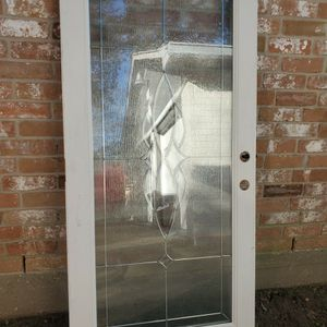 Front Door Doors Puertas Puerta Entry Exterior Door Glass Door Leaded Glass for Sale in Houston, TX