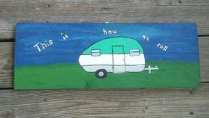 Camper sign for Sale in Thomasville, NC