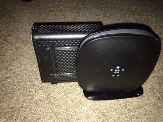 Belkin - Router & Arris - Modem(Xfinity compatible) for Sale in Beaverton,  OR