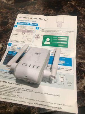 WiFi extender / Router for Sale in San Bernardino, CA