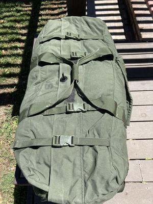 Military surplus enhanced duffle bag for Sale in San Bernardino, CA