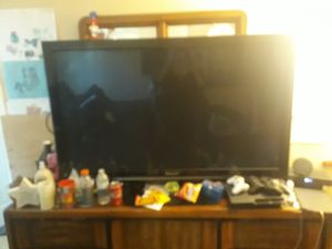 55in Panasonic flat-screen TV for Sale in Simi Valley, CA