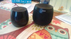 2 jam bluetooth speakers. for Sale in Lake Wales, FL