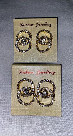 Diamond styled Earrings ❤️ for Sale in Boston,  MA