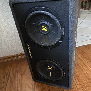 Kicker Speakers And Amp for Sale in Anaheim, CA