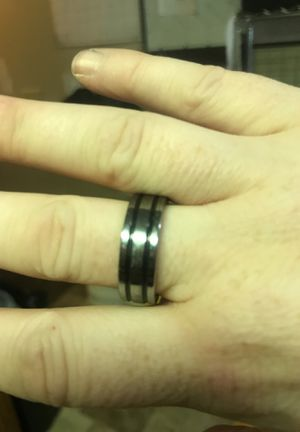 Tungsten Men's Wedding Ring for Sale in Sioux Falls, SD