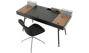 Bo Concept Cupertino Desk with Speakers for Sale in New York, NY