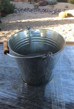 Metal bucket for Sale in Phoenix, AZ