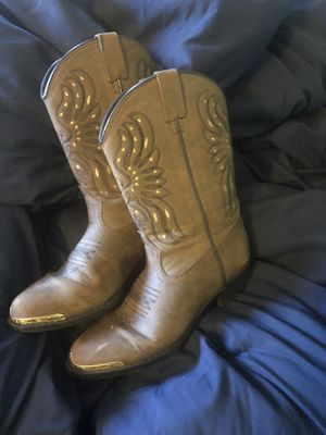 Cowgirl boots and aspca cat vans for Sale in Rancho Cucamonga, CA