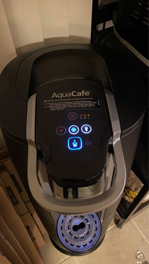 Aqua Cafe K Cup & Water Cooler + Water Dispenser for Sale in Chicago, IL