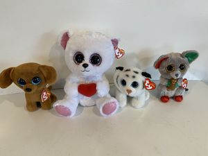 4 new with tags soft TY babies for Sale in Everett, WA