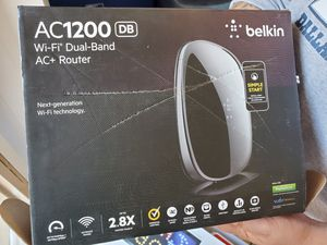 Belkin AC1200 Wifi Router for Sale in Carrollton, TX