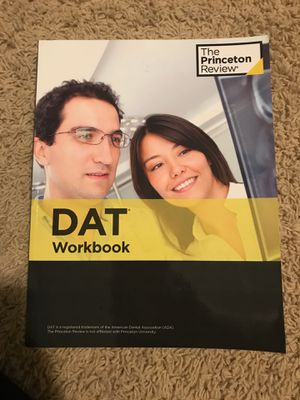 Princeton review DAT bundle for Sale in San Jose, CA
