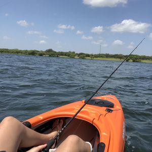 Pelican 10' Bounty Orange Kayak for Sale in San Antonio, TX