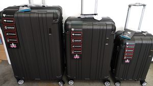 GABBIANO 3 PIECE LUGGAGE SET$150 BRAND NEW 8 WHEELS SPINNERS LIGHT WEIGHT EXPANDER SYSTEM for Sale in HALNDLE BCH, FL