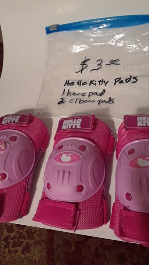 Hello kitty elbow and knee pads for Sale in Ocoee, FL
