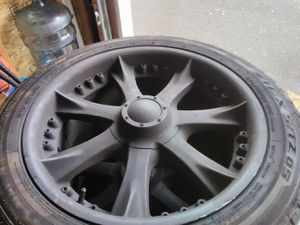 20inch rims and tires for Sale in Tualatin, OR