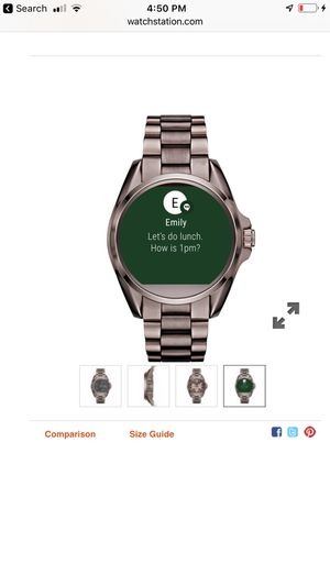 Micheal Kors smart watch sable color for Sale in Fort Worth, TX