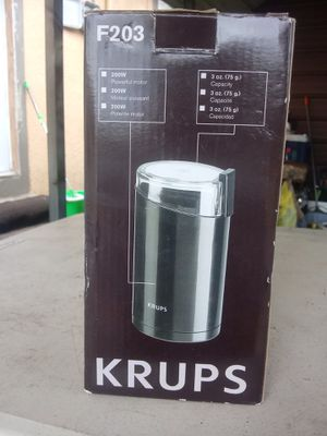 Krups® Fast-Touch Coffee Grinder for Sale in Fort Meade, FL