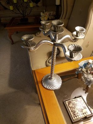 Silver Candelabra made in Mexico for Sale in Lewisville, TX