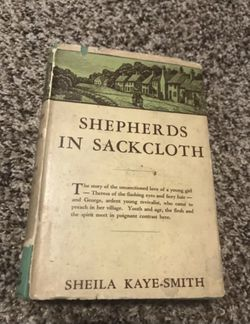 Shepherds in Sackcloth by Shelia Kaye-Smith 1930 Vintage Book for Sale in Buckhannon,  WV