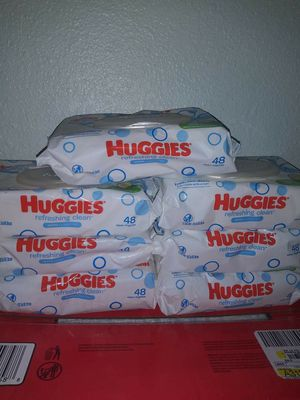 Wipes huggies 7 paquetes por $10 precio firme recoger en santa ana for Sale in Santa Ana, CA