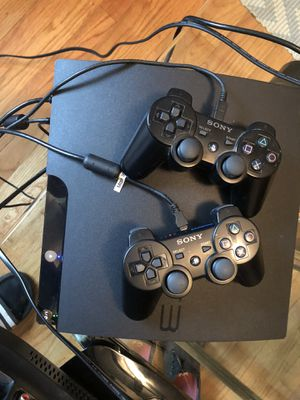 PS3 with 2 controllers for Sale in Mebane, NC