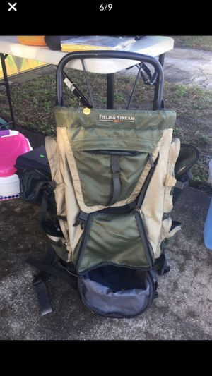 External frame Field and Stream Backpack for Sale in St. Petersburg, FL