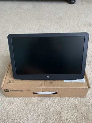 HP 14 inch portable monitor for Sale in Clearwater, FL