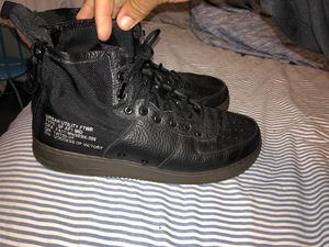 Black Air Force 1 mids for Sale in Haines City, FL