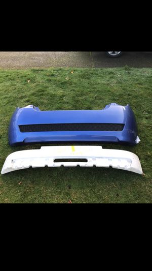 2009 Chevrolet Aveo LT Hatchback Rear bumper and bumper support for Sale in Portland, OR