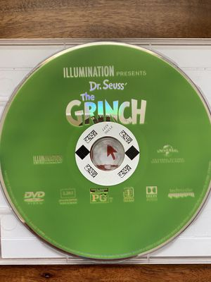 Dr. Seuss' The Grinch DVD for Sale in Glendale, CA