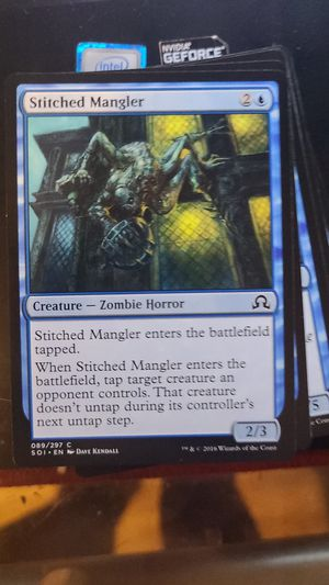 Magic the Gathering Card - Stitched Mangler- Zombie Horror - kids gift toy collection vitamge mtg trading cards for Sale in Flushing, NY