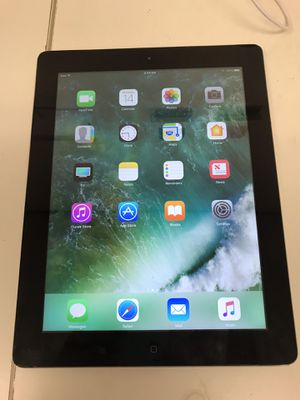 Apple ipad 4th gen 32gb wifi unlock with charger for Sale in Houston, TX