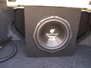 Speaker box and amplifier. for Sale in Sebring, FL