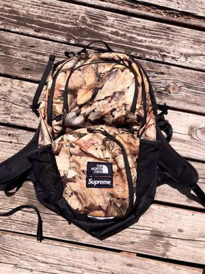 *STEAL* Supreme x TNF 'Pocono' Leaves Backpack for Sale in Raleigh, NC