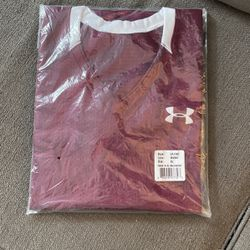 Under Armour Football Jersey - XL - Maroon With White Trim for Sale in Raleigh,  NC