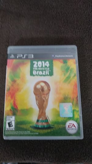 10$ Ps3 2014 fifa world cup brazil for Sale in Newman, CA