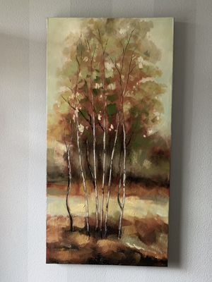 """Beautiful painted picture !!! 24""""x 47"""" for Sale in Vancouver, WA"""