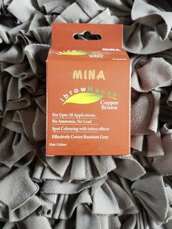 Mina Professional Eyebrow Henna In Copper Brown for Sale in Brookfield,  IL