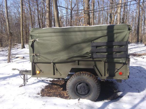 M101A1 tilt trailer
