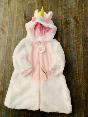 Baby Girl Unicorn Halloween Costume, 3-6 months,NWT for Sale in Centennial, CO