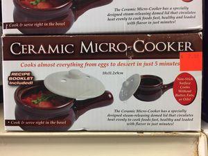 Ceramic micro cooker for Sale in Las Vegas, NV