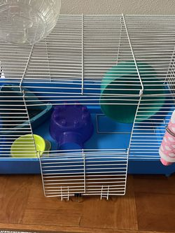 Hamster/ Gerbil Cage with accessories for Sale in Yakima,  WA