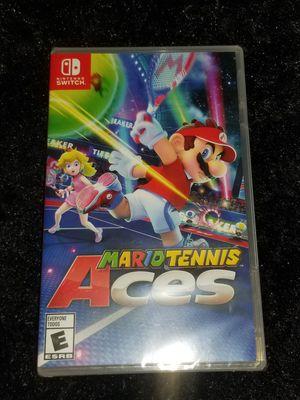 Mario tennis Nintendo switch for Sale in Aurora, CO